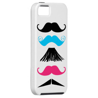 5 Trendy Mustaches iPhone Vibe Case