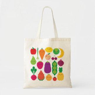 5 una fruta y verduras del día bolsa tela barata