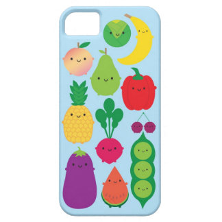 5 una fruta y verduras del día funda para iPhone 5 barely there