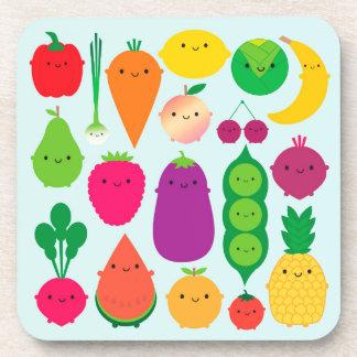 5 una fruta y verduras del día posavaso