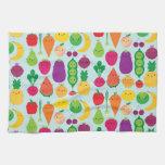 5 una fruta y verduras del día toallas de cocina