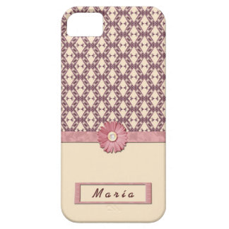 5 VINTAGE FLOWERS FOUNDS HOUSING CASE IPHONE LASSO iPhone 5 COVER