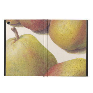 5 vintage pears illustrated cover for iPad air