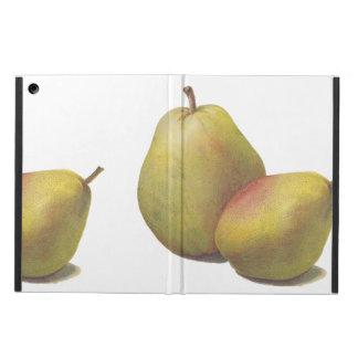 5 vintage pears illustrated iPad air cover