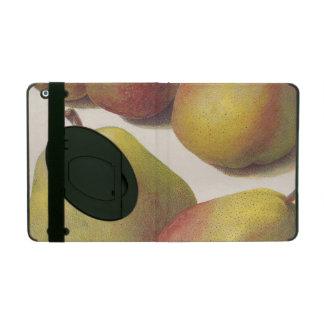 5 vintage pears illustrated iPad case