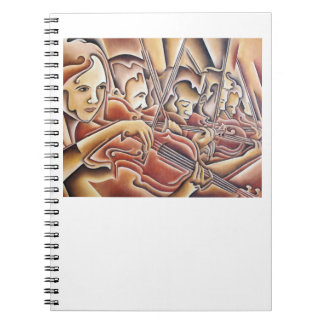 5 Violins notebook