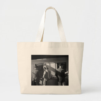 $5 Window, Hialeah Park, 1939 Large Tote Bag