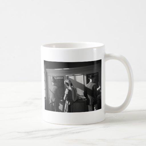 $5 Window, Hialeah Park, 1939 Classic White Coffee Mug