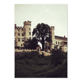 "5""x7"" Castle Invatation Card"