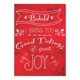 """5""""x7"""" Tidings of Joy Christmas cards by Jan Marvin"""
