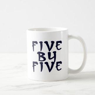 5 x 5 taza de café