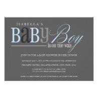 5 x 7 Baby Boy | Baby Shower Invite