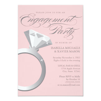 900 engagement ring invitations engagement ring for Pictures of wedding rings for invitations