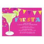 """5 x 7 Fiesta   Party Invite 5"""" X 7"""" Invitation Card"""
