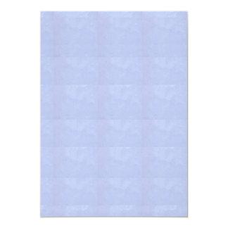 "5"" x 7"" Invitation BASIC : CRYSTAL SPARKLE BLUE"