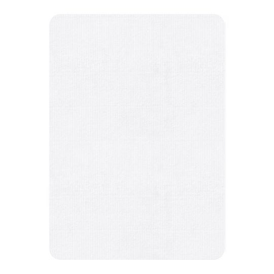 """Laid 5"""" x 7"""", Standard white envelopes included"""