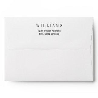 5 x 7 Mailing Envelopes with Return Address