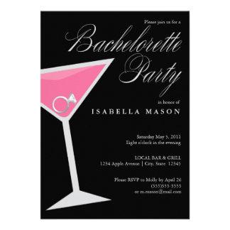 5 x 7 Ring In Cosmo | Bachelorette Party Invite