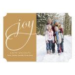 5 x 7 tarjeta de la foto del día de fiesta de la invitaciones personalizada