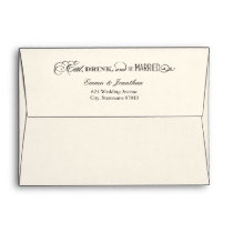 5 x 7 Wedding Envelopes   Eat Drink and Be Married