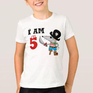 5 year old pirate birthday boy T-Shirt