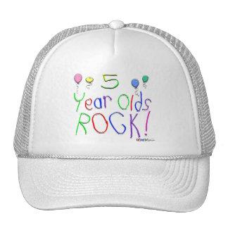5 Year Olds Rock ! Trucker Hat