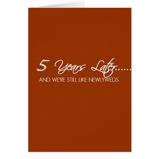 Year wedding anniversary card zazzle