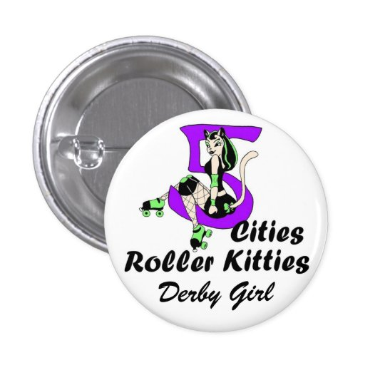 5CRK Official Derby GIrl Button