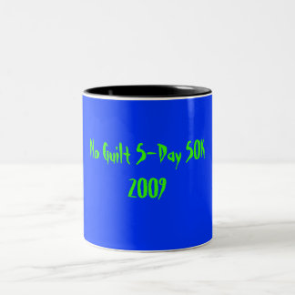 5Day/50K mug