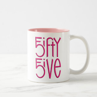 5ifty 5ive hot pink Mug