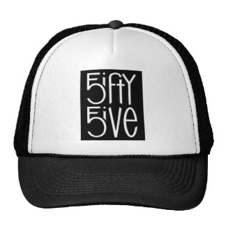 5ifty 5ive white Hat