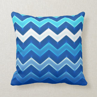5in1 (see description) Wave Pattern Blue Cushion 1
