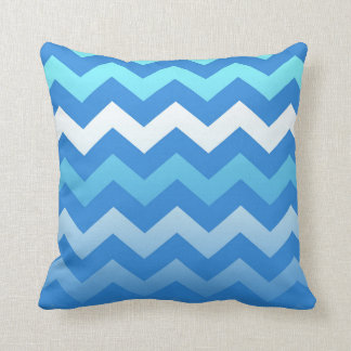 5in1 (see description) Wave Pattern Blue Cushion 2 Pillows