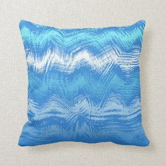 5in1 (see description) Wave Pattern Blue Cushion 3 Pillow