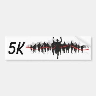 5K Bumper Sticker Car Bumper Sticker