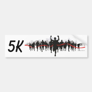 5K Bumper Sticker
