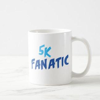 5k Fanatic Funny 3.1 Mile Runner or Walker Saying Coffee Mug