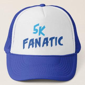 5k Fanatic Funny 3.1 Mile Runner or Walker Saying Trucker Hat