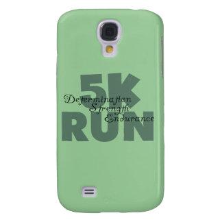 5K Run Green Sports Running Samsung S4 Case
