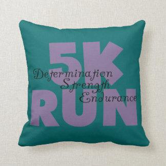 5K Run Purple Pillows