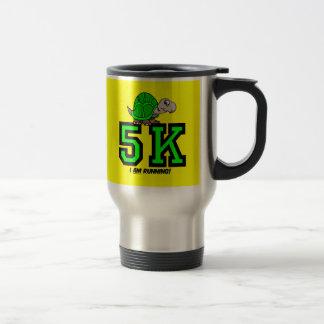 5K runner 15 Oz Stainless Steel Travel Mug