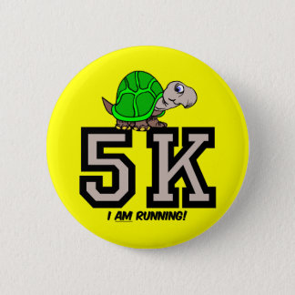 5K runner Button