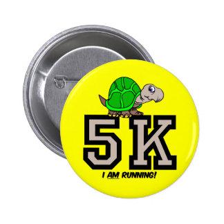 5K runner Button