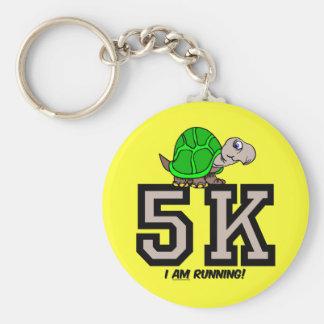 5K runner Keychain