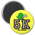 5K runner Magnet