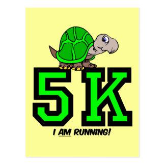 5K runner Postcard