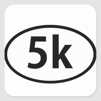 5k square sticker
