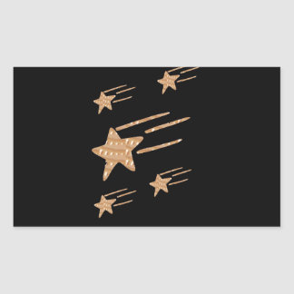 5STAR Gold Black Base: LOWEST PRICE GIFTS for ALL Rectangular Sticker