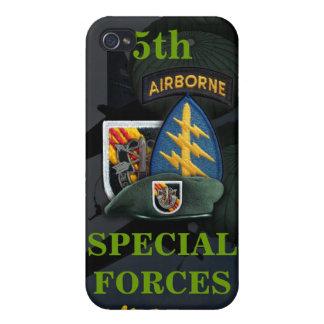 5ta boina verde Vietnam i de las fuerzas especiale iPhone 4/4S Carcasas