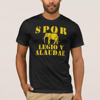 5ta camiseta romana del elefante de la legión de